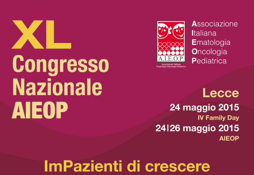 40° CONGRESSO AIEOP & FAMILY DAY